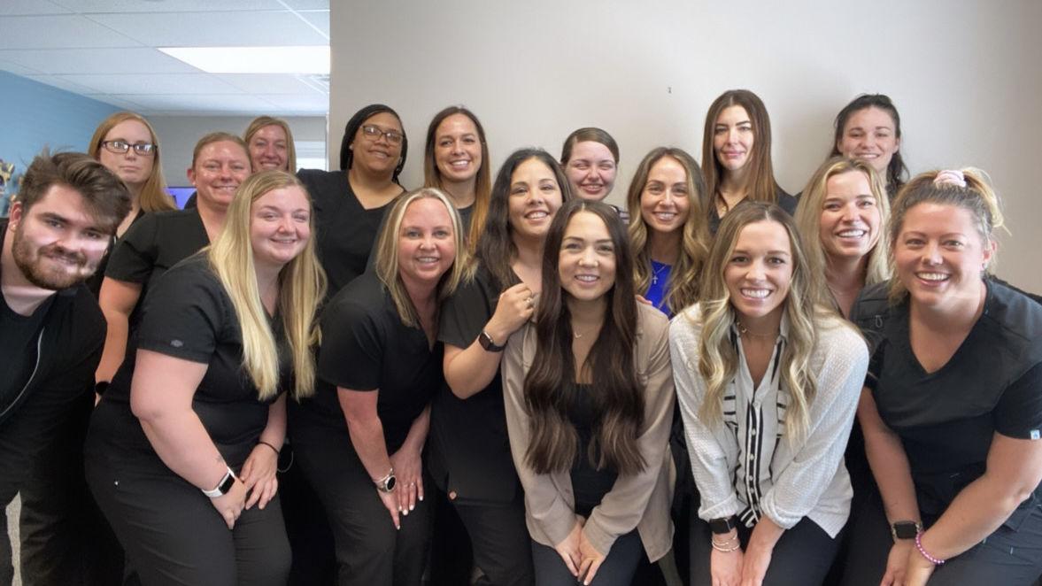 Hancock Dermatology Team Photo