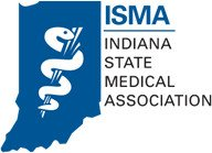 Indiana state Medical Association Logo
